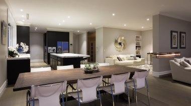 Img9016 - dining room | interior design | dining room, interior design, living room, real estate, room, gray, black