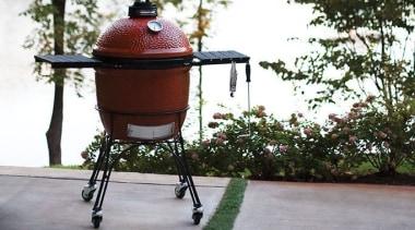 View the Kamado Joe Range outdoor grill, plant, product, gray, white