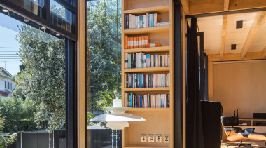 Takapuna, Auckland (designed in association with Rachael Rush) apartment, architecture, daylighting, interior design, living room, real estate, window, wood
