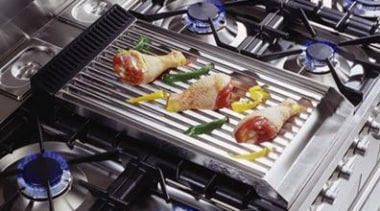 use on griddle models only - gas barbeque cuisine, food, meal, product, black, gray