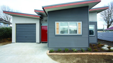 Rotorua Now - Corrugate Grey Friars - Landscape cottage, elevation, facade, home, house, property, real estate, residential area, siding, window, white