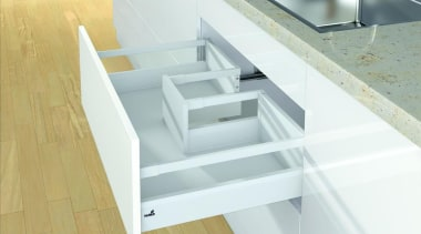 Using one and the same side profile, drawers angle, drawer, floor, furniture, product, product design, shelf, stairs, table, white