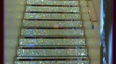 A Glitter Staircase - A Glitter Staircase - daylighting, floor, line, stairs, wood, brown