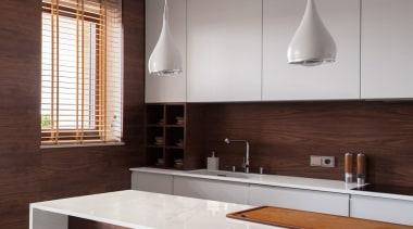 Worktop Glacier Dekton® XGloss Natural (HR) architecture, cabinetry, countertop, cuisine classique, interior design, kitchen, sink, gray, red