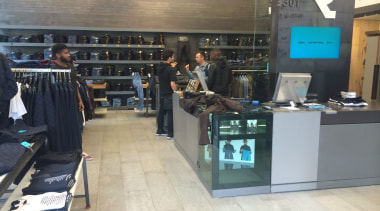 Gstar_2 - boutique | retail | gray | boutique, retail, gray, black