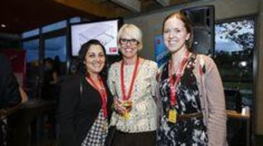 Neesha & Isabella from Klein with Laminex NZ's community, event, fashion, socialite, black