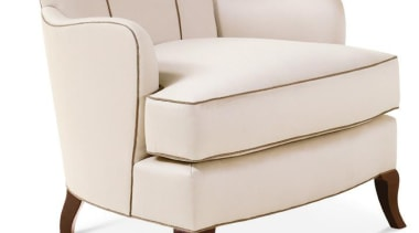 """A good room is an overall harmonious composition angle, armrest, chair, club chair, furniture, product, product design, white"