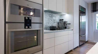 IMGL6948-10 - George Street, Apartment living - countertop countertop, home appliance, interior design, kitchen, gray