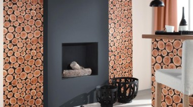 Raum Aqua Decor - Aqua Deco Range - floor, flooring, hearth, interior design, living room, wall, wood burning stove