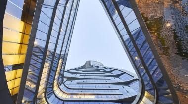 Raffles City Hangzhou – UNStudio architecture, building, daylighting, structure, teal