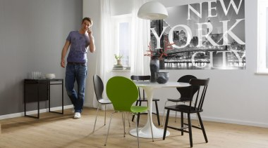Italian Color Range - New York City Interieur chair, floor, flooring, furniture, interior design, product, product design, table, gray