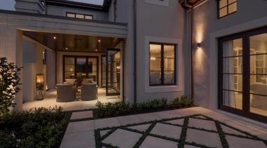Img 0668 - courtyard | estate | facade courtyard, estate, facade, home, house, interior design, lighting, lobby, property, real estate, window, black, gray