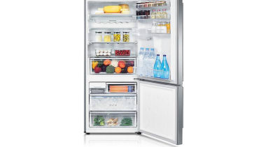Refrigerator- Bottom Mount SRL448DLSThe Barosa Series refrigerator comes home appliance, kitchen appliance, major appliance, product, refrigerator, white