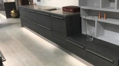 Concreate GKC CF103 2 - Concreate_GKC_CF103_2 - countertop countertop, floor, flooring, furniture, hardwood, kitchen, laminate flooring, tile, wood, wood flooring, gray, black