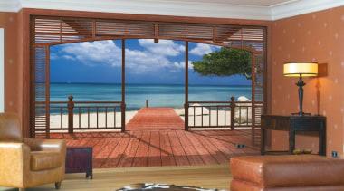 Paradiso Interieur - Italian Color Range - door door, estate, home, interior design, property, real estate, resort, room, suite, wall, window, wood, brown