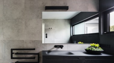 See more from Bijl Architects architecture, countertop, floor, interior design, kitchen, sink, wall, gray, black