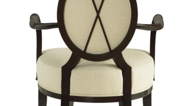 """A good room is an overall harmonious composition armrest, chair, furniture, outdoor furniture, product design, table, white"