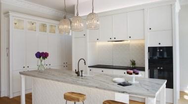Mount Eden Kitchen - Mount Eden Kitchen - floor, furniture, home, interior design, kitchen, product design, room, table, gray
