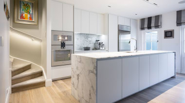 IMGL6932-1 - George Street, Apartment living - cabinetry cabinetry, countertop, cuisine classique, floor, interior design, kitchen, real estate, room, wood flooring, gray