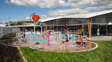 Holmes Consulting Group Tourism& Leisure Property Award amusement park, fun, leisure, leisure centre, park, playground, recreation, sport venue, water, water park, gray, brown