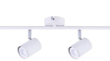 FeaturesThe Baril range is a classic spotlight design ceiling fixture, light, lighting, product, product design, table, white