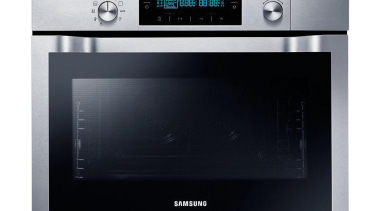 Cookware-Oven NQ50C7935ES/SAEnjoy healthy steamed food with the Samsung home appliance, kitchen appliance, microwave oven, oven, product, toaster oven, black, gray
