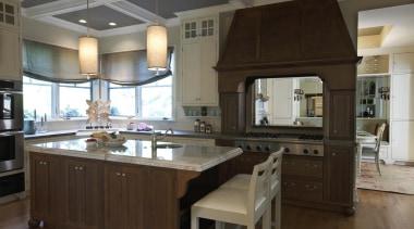 First Floor Update - Kitchen - cabinetry | cabinetry, countertop, cuisine classique, flooring, hardwood, interior design, kitchen, room, black, gray