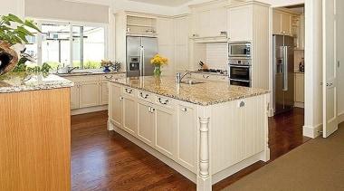 Mine Host - cabinetry | countertop | cuisine cabinetry, countertop, cuisine classique, floor, flooring, hardwood, interior design, kitchen, laminate flooring, room, wood, wood flooring, white
