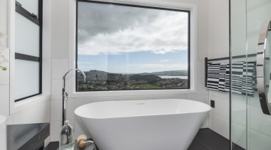 Landmark Homes Fitzroy Design Bathroom - Landmark Homes bathroom, interior design, property, real estate, room, window, gray