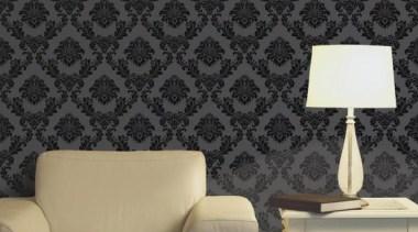 Aria Range - couch | interior design | couch, interior design, pattern, product design, wall, wallpaper, black