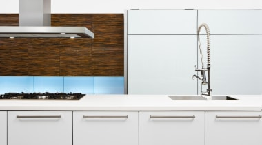 caesarstoneclassico2141snowkitchen.jpg - caesarstoneclassico2141snowkitchen.jpg - bathroom | kitchen | bathroom, kitchen, product, product design, sink, tap, white