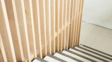 Installation of Naturali travertino avorio on floors. daylighting, floor, flooring, hardwood, interior design, line, product, property, structure, wall, wood, wood flooring, orange, white
