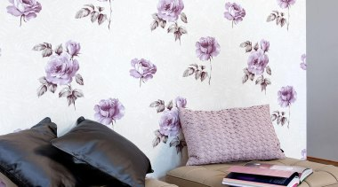Gardens of Amsterdam Range - Gardens of Amsterdam interior design, lilac, living room, purple, wall, wallpaper, white