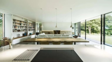 See the home architecture, house, interior design, white