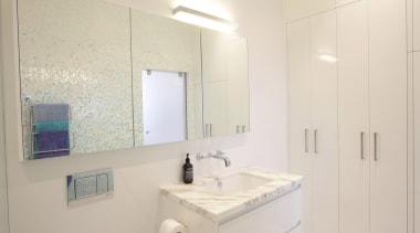 Winner Bathroom of the Year 2013  Victoria bathroom, bathroom accessory, bathroom cabinet, home, interior design, property, real estate, room, sink, gray
