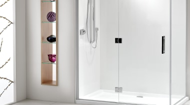 Designed specifically for modern New Zealand bathrooms, the angle, plumbing fixture, shower, tap, white