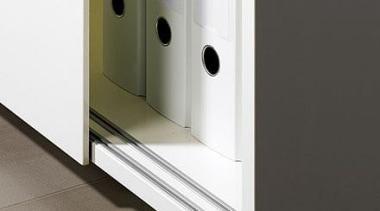 SlideLine 55 Plus - bottom-running sliding door fitting. product design, black, white