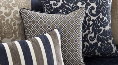 Strassbourg 2 - Strassbourg 2 - couch | couch, cushion, duvet cover, furniture, interior design, linens, living room, pattern, pillow, textile, throw pillow, black, gray, white