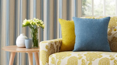 The versatility of our Naomi Collection is deceiving chair, coffee table, couch, curtain, cushion, furniture, home, interior design, living room, loveseat, slipcover, sofa bed, table, window, window covering, window treatment, yellow, gray, white