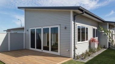 Tauranga Showhome - Tauranga Showhome - cottage | cottage, elevation, facade, home, house, porch, property, real estate, siding, window, gray