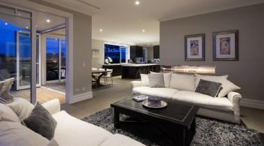 17 living after - Living After - ceiling ceiling, home, interior design, living room, property, real estate, room, gray, black