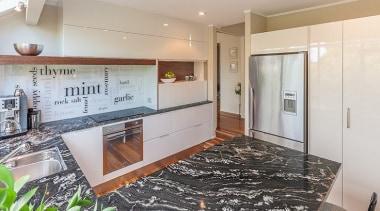 Countertop impact - countertop | floor | interior countertop, floor, interior design, kitchen, property, real estate, room, gray, black
