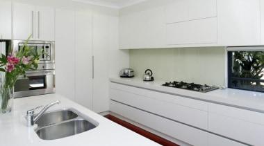 White Stone - White Stone - countertop | countertop, cuisine classique, home appliance, interior design, kitchen, room, gray, white