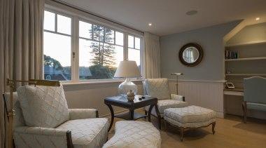 Master bedroom - Master bedroom - ceiling | ceiling, home, interior design, living room, real estate, room, window, gray, brown