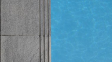 RAK Stone Anthracite pool coping detail - Heritage azure, line, sky, texture, wall, wood, teal, gray