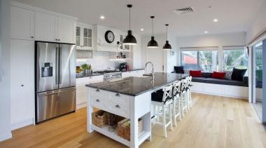 Entrant: Colleen Holder – 2015 NKBA Design Awards countertop, floor, flooring, interior design, kitchen, real estate, room, wood flooring, gray