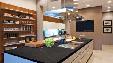 Kelya Marble - Lifestyle - Kelya Marble - countertop, interior design, kitchen, brown, gray