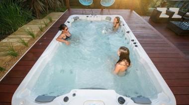 Galaxy Swim Spas bathtub, hot tub, jacuzzi, leisure, swimming pool, gray