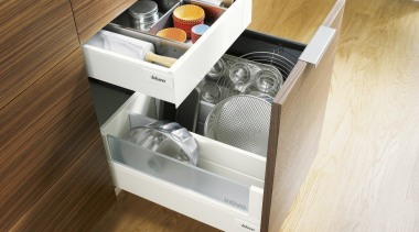 ORGA-LINE inner dividing system – so many practical drawer, furniture, kitchen, product, product design, white, brown