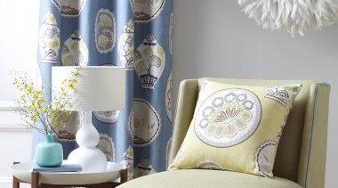 Cherry Garden - Cherry Garden - chair | chair, couch, curtain, furniture, home, interior design, living room, room, table, window, window treatment, gray, white